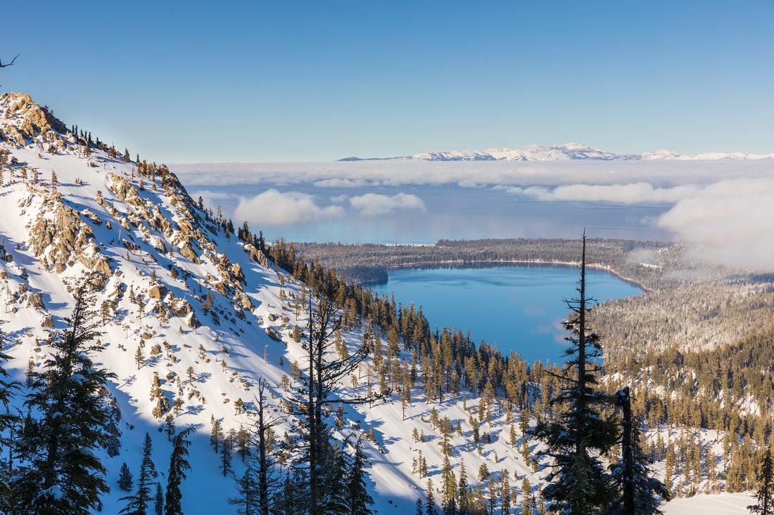 Angora, Fallen Leaf Lake, Lake Tahoe, and Mt. Rose